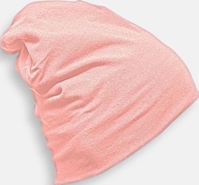 Baby Pink Bomullsmössor med många reklamtryck möjligheter