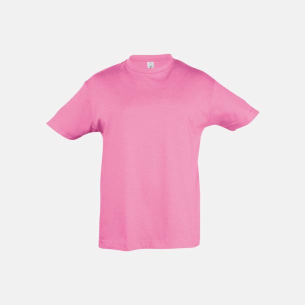 Orchid Pink Billig barn t-shirts i rmånga färger med reklamtryck