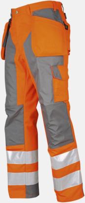 Orange Vattentäta herrvarselbyxor Klass 2