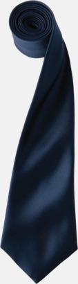 Navy Slipsar i supermånga färger