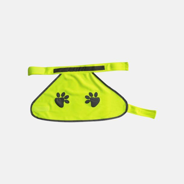 Signal Yellow Reflexvästar för hund - med reklamtryck