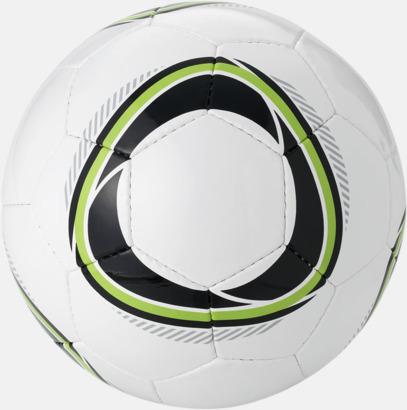 Svart/Grön (2) Designade fotbollar med reklamtryck