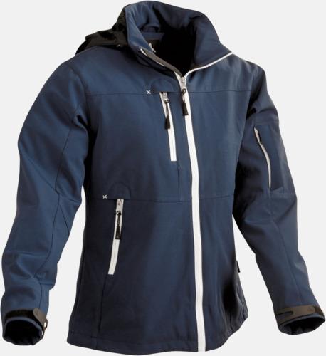 Marinblå Garnet Jacka med eget reklamtryck eller brodyr