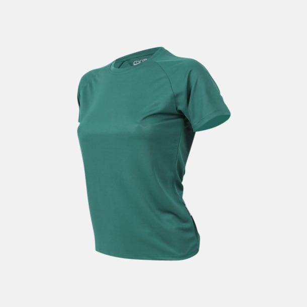 Bottle green Sport t-shirts i många färger - med reklamtryck