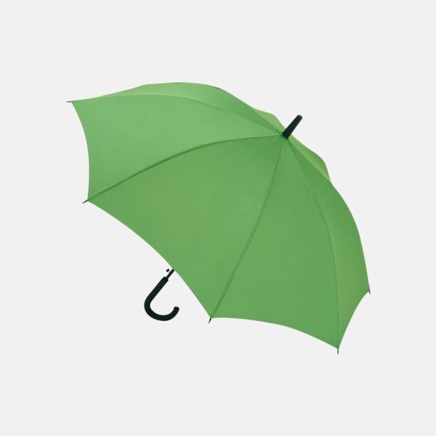 Ljusgrön Paraplyer med reklamtryck