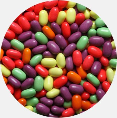 Minipastiller (frukt) Tablettaskar med annorlunda innehåll - med reklamtryck