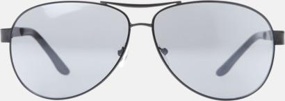 Aviator solglasögon med reklamtryck