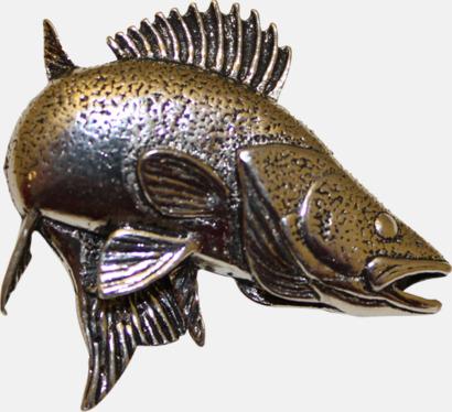 Gös Engelska, handgjorda broscher med jaktmotiv