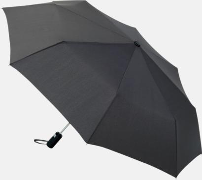 Anthracite Kompaktparaplyer med automatisk uppfällning