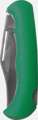 Grön Rejäla fickknivar med lasergravyr