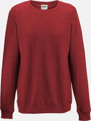 Red Heather (dam) Heather tröjor i unisex- och dammodell med reklamtryck