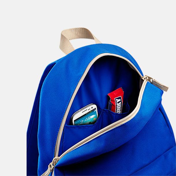 Retroryggsäckar med reklamtryck eller -brodyr