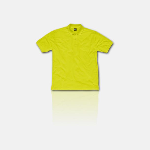 Lime Fina pikétröjor för herr, dam & barn med reklamtryck