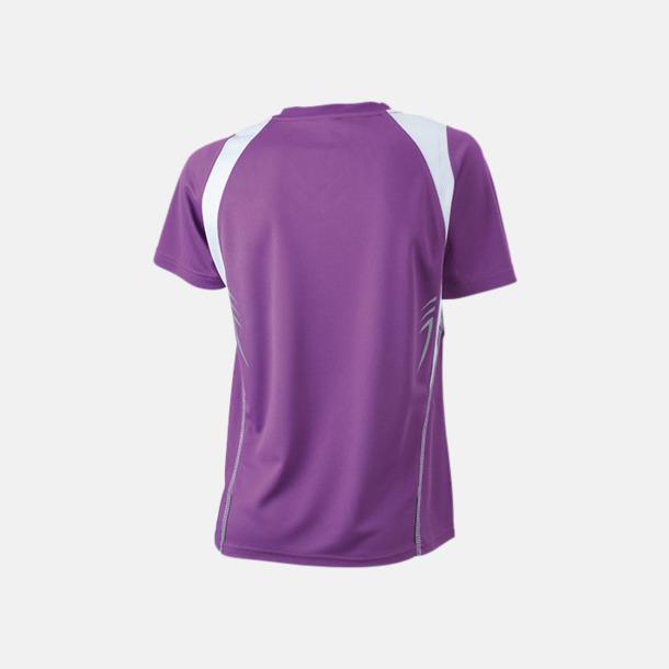 Flerfärgade funktionströjor med eget tryck