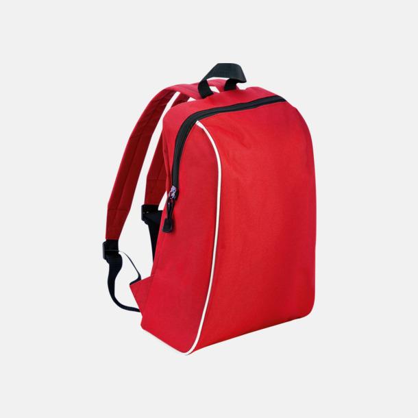 Röd Sportiga ryggsäckar i retro