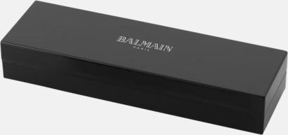 Lackerad presentförpackning Balmains Neptune-penna med laserlogo