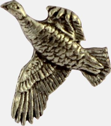 Ripa Engelska, handgjorda broscher med jaktmotiv
