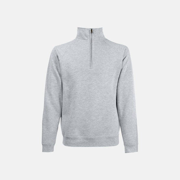 Heather Grey Sweatshirt med tryck