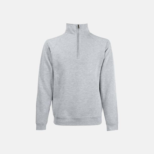 Heather Grey Sweatshirt med tryck