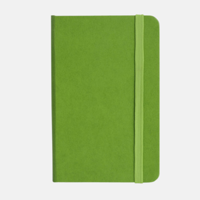 Grön anteckningsbok i konstläder i A6 format