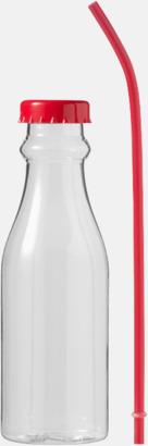 Drickflaskor med sugrör - med reklamtryck