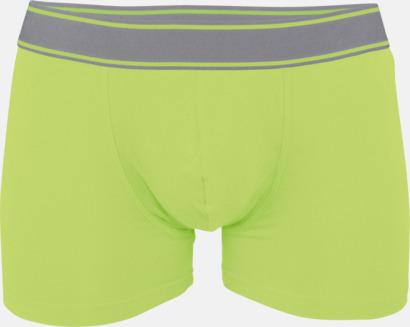Lime Billiga boxershorts med reklamtryck