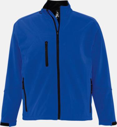 Royal Blue (herr) Softshell jackor i herr- & dammodell med reklamtryck