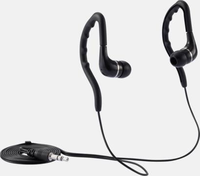 Sportiga hörlurar med eget tryck