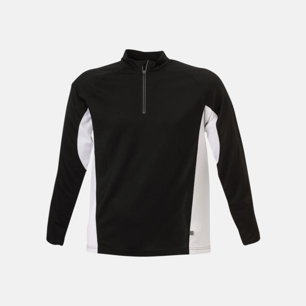 Svart/Vit Träningskläder med eget tryck