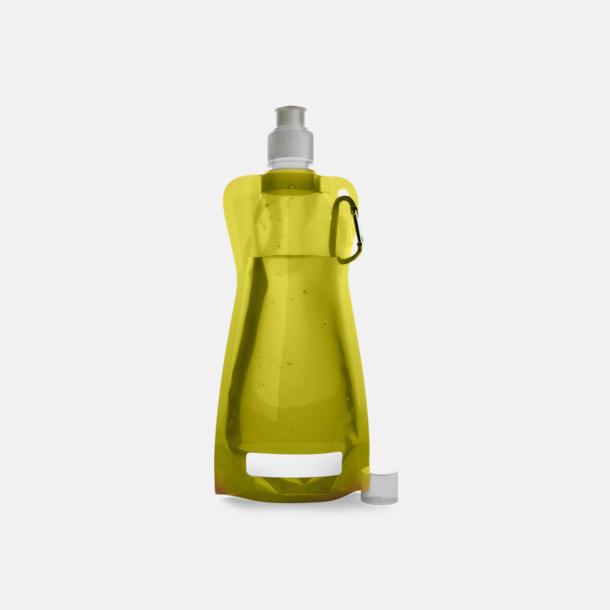 Gul Reklamvattenflaska med egen logga
