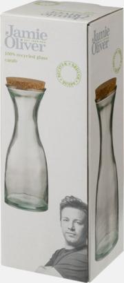 Presentförpackning Serveringskaraff av 100 % återvunnen glas - med reklamlogga