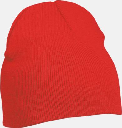 Röd Brodera billiga mössor som give away