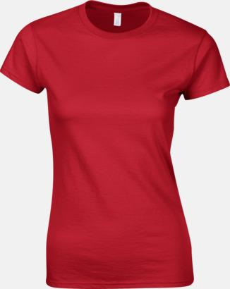 Röd Billiga t-shirts med tryck