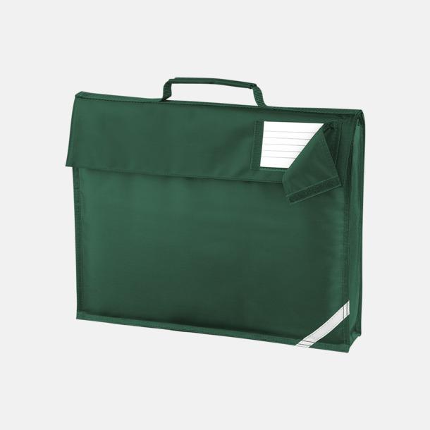 Bottle Green (utan rem) Bokväskor med eller utan axelrem med reklamtryck
