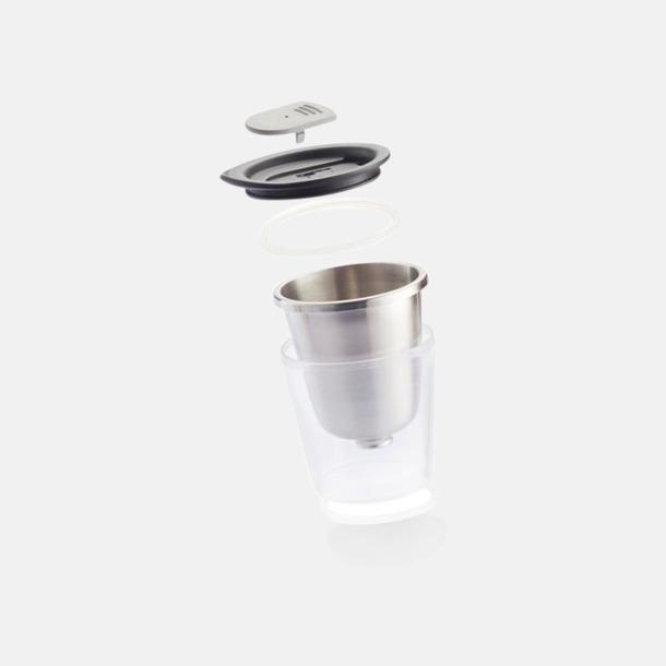 Isolerade kaffemuggar med lock - med reklamtryck