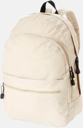Khaki Trendigt designade ryggsäckar med tryck