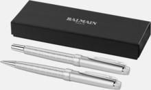Balmain-pennor 2-delars set med reklamlogo