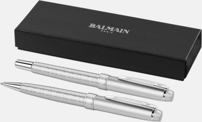Set Balmain-pennor 2-delars set med reklamlogo
