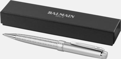 Singel Balmain-pennor 2-delars set med reklamlogo
