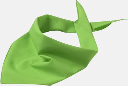 Lime Grön Billiga scarfar med reklamtryck