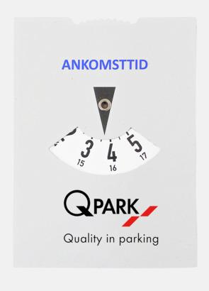 Parkeringsskiva med tryck av egen logo