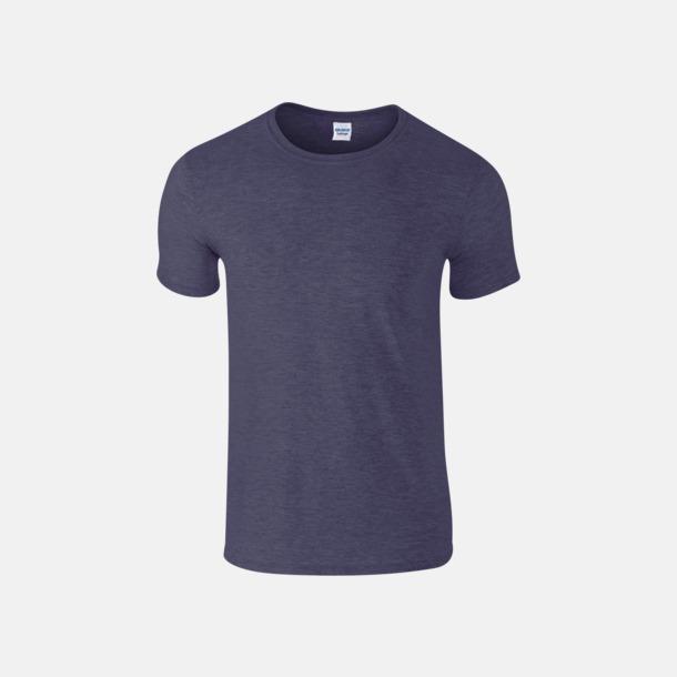 Heather Navy Billiga t-shirts med tryck