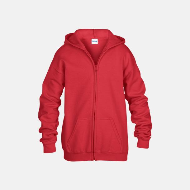 Röd Barntröjor från Gildan med reklamtryck eller -brodyr