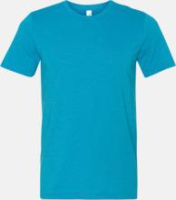 Unisex t-shirts i spräckliga färger med reklamtryck