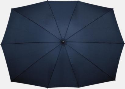 Marinblå Tvillingparaply med eget tryck