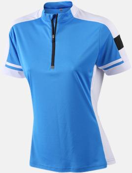 Cobalt (dam) Herr- och dam cykeltröjor med reklamtryck