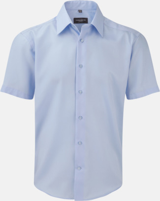 Bright sky (kortärmad) Strykfri businessskjorta
