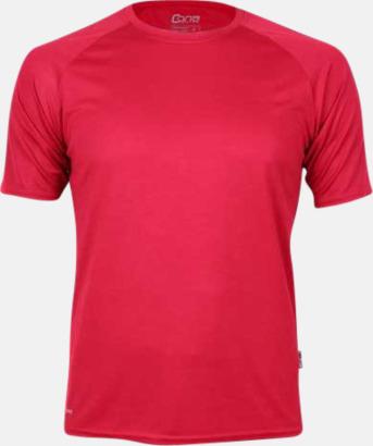 Röd Funktioner i alla tänkbara färger - med reklamtryck