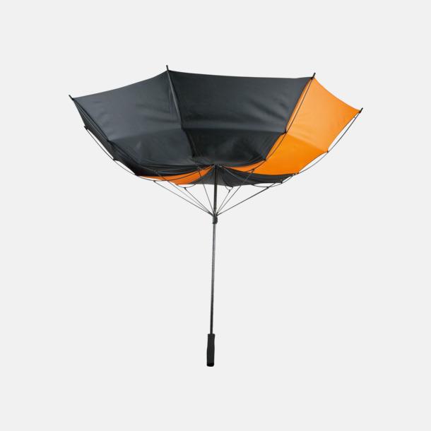 Stormsäkert Stormsäkra, 2-färgade paraplyer med reklamtryck