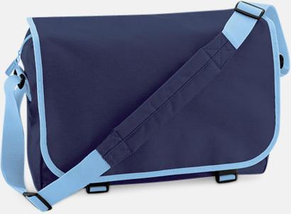 French NavySky Blue Billiga väskor med reklamtryck